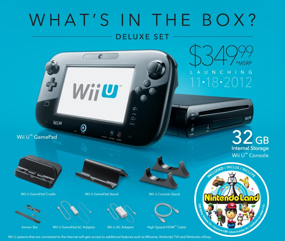 Here S What S Inside Each Wii U Console Box Kotaku Australia
