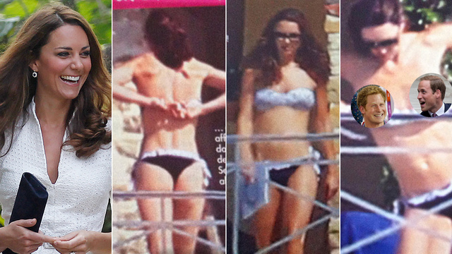 These Topless Photos of Kate Middleton Put Us at Two for Three on Royal Nudie Pic Scandals [NSFW] (UPDATED)