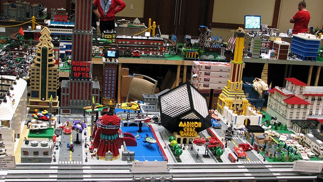 From Madison Cube Garden to the Mutant Sewers: Futurama's New New York in Lego