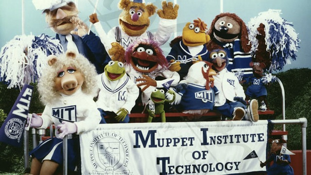 Douglas Adams and Jim Henson tried to develop a TV special about the Muppet Institute of Technology