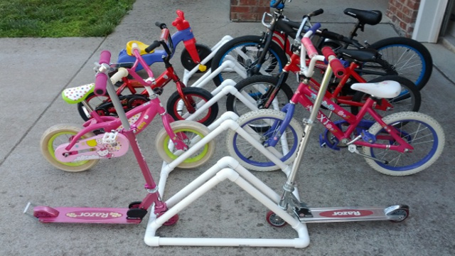 Build a PVC Bike Rack