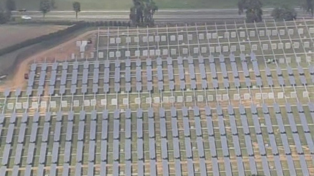 This Is What a 20 Megawatt Solar Farm Looks Like