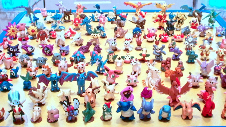 Click here to read The Original 151 Pok&amp;eacute;mon Made Very, Very Small