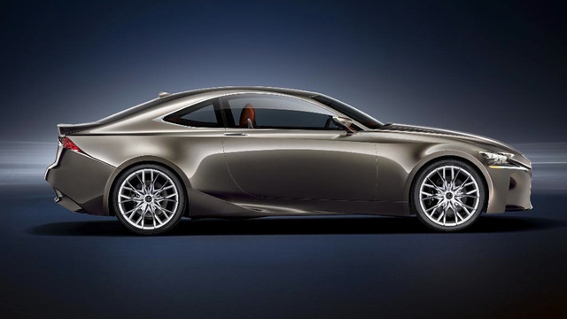 The Lexus LF-CC Concept Looks Like A New IS Coupe