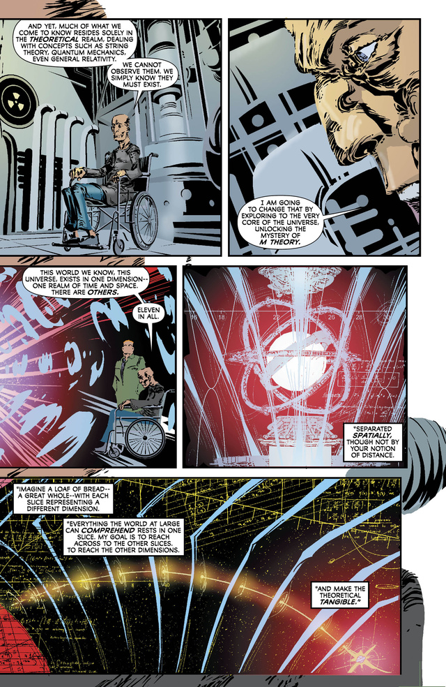 A sneak peek at this week's issue of Captain Atom