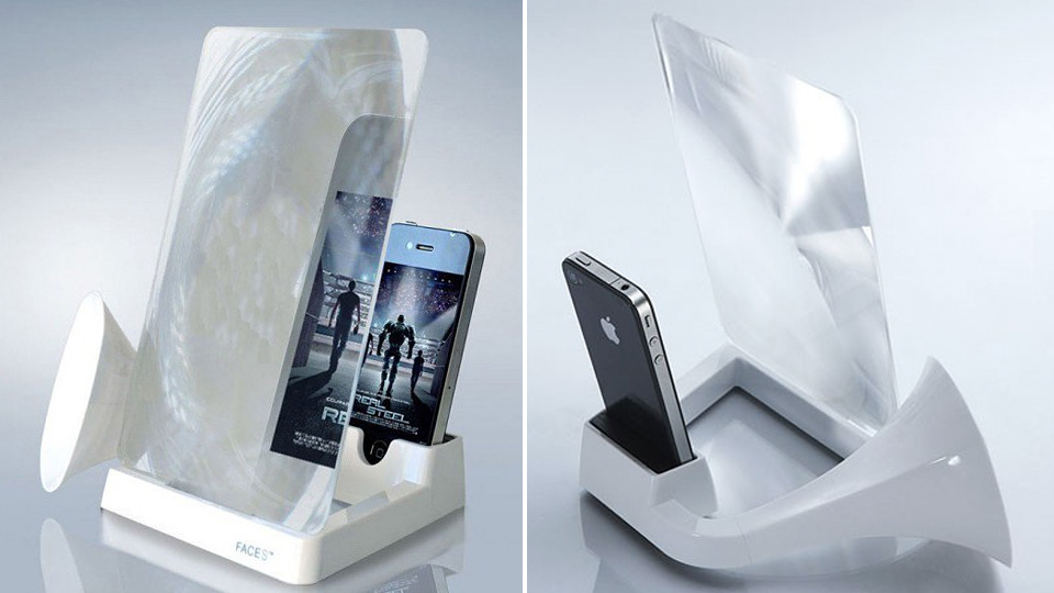 Click here to read Giant Magnifier For Those Who Think the iPhone 5's Display Is Still Too Small