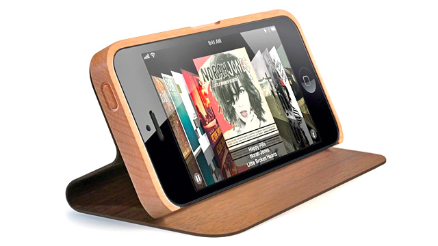 Click here to read This Beautiful Wooden Book Case Is the First iPhone 5 Accessory We Actually Want