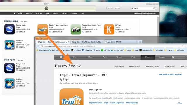 Easily Browse the iTunes Store by Dragging Icons to Your Web Browser