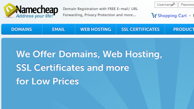 Most Popular Domain Name Registrar: Namecheap