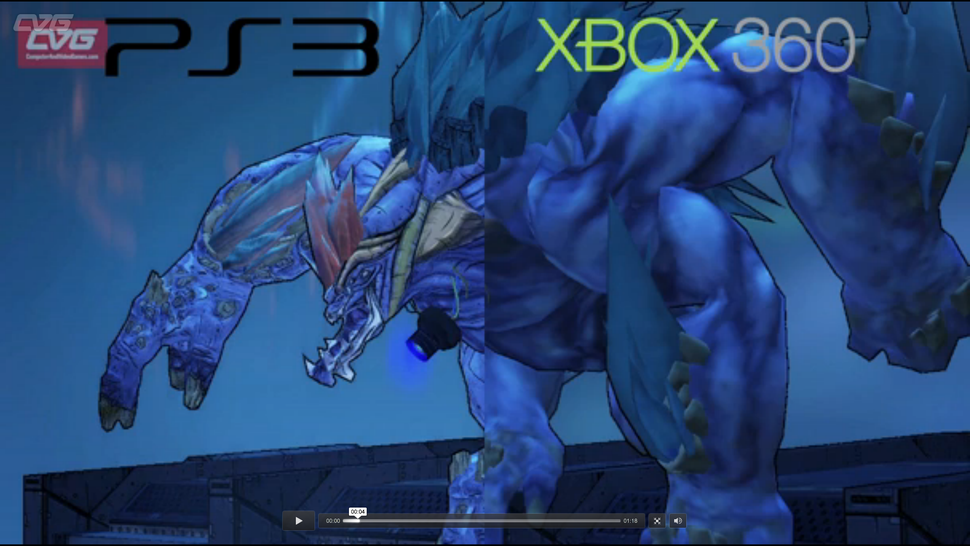 Let This <em>Borderlands 2</em> Comparison Video Help You Decide Between the Xbox 360 and PS3 Versions