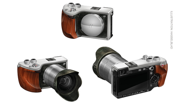 Hasselblad's Ridiculously Expensive Mirrorless Camera At Least Looks the Part