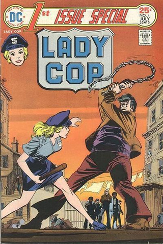 Meet Lady Cop, the most underrated comic book hero of all