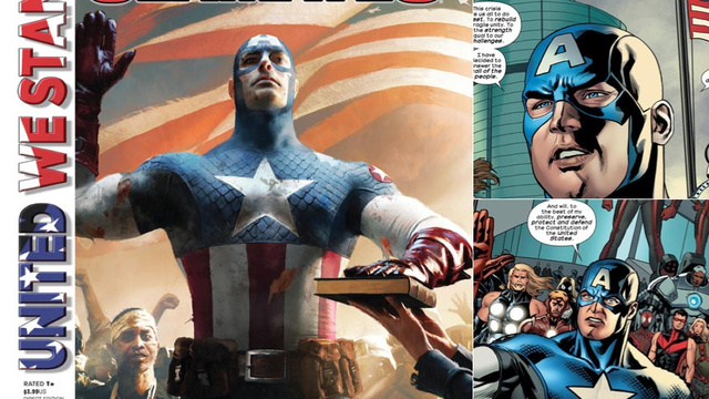 Captain America Becomes President America Next Week, In a Stunt Story That Might Actually Be Good