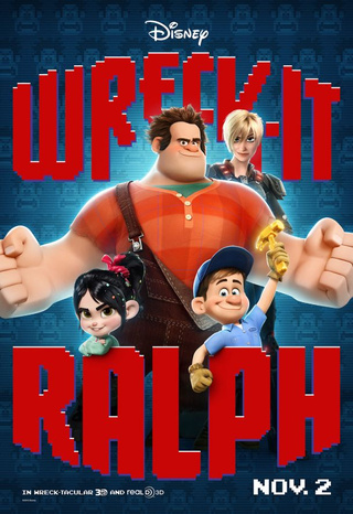 Wreck-It Ralph - New Posters