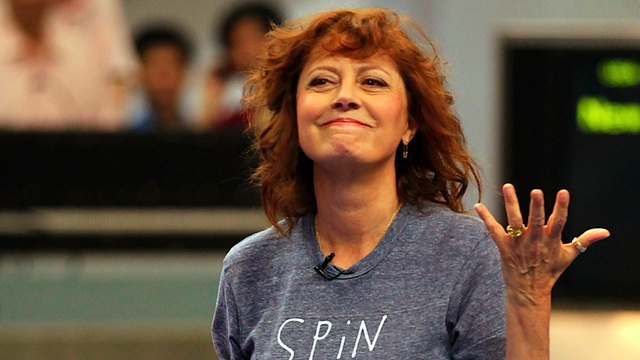 Susan Sarandon's Favorite Movie Is Mitt Romney's Campaign
