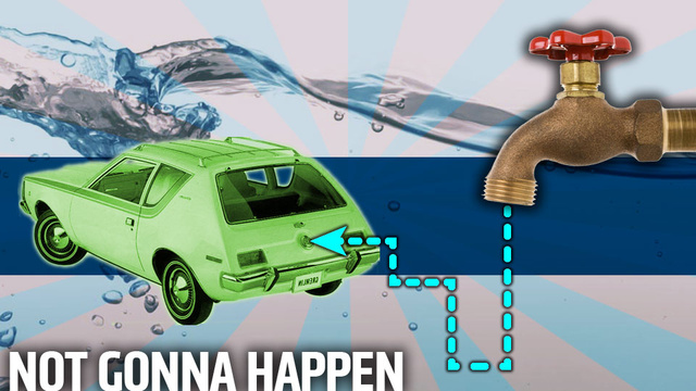The Never-Ending Dream Of The Water-Powered Car