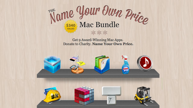 Click here to read Name Your Own Price for $340 Worth of Mac Apps, a Portion Goes to Charity