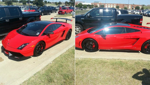 Is A 15-Year Old Texan Girl Driving This Ultra Rare Lamborghini To High School? [UPDATE: Yes, She Is]