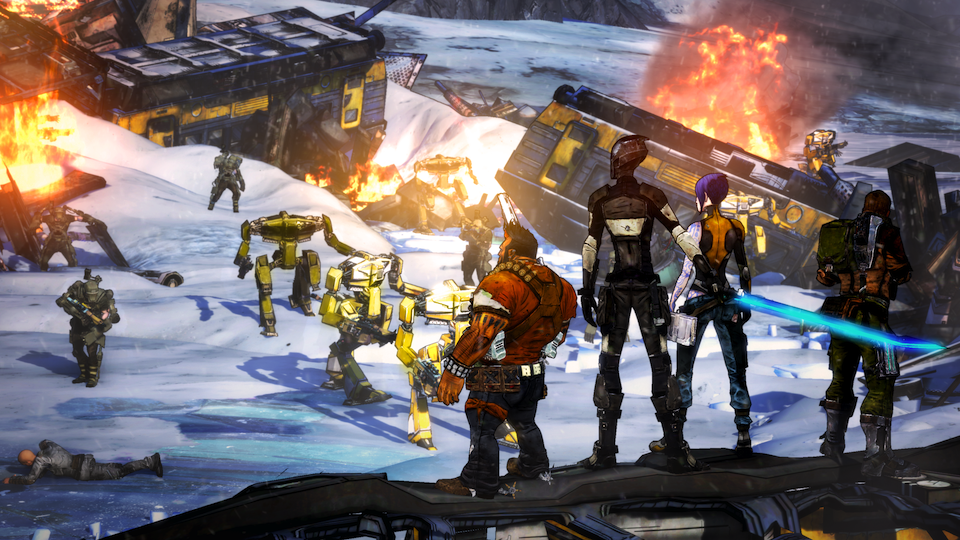Click here to read A Mysterious <em>Borderlands 2</em> Side-Project, The Future of <em>Contra</em> and Other Gaming Secrets