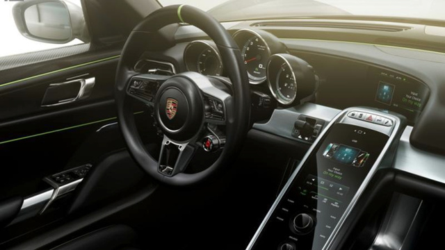 I Hope It Can Have An Interior On Par W/ The New Porsche 918: