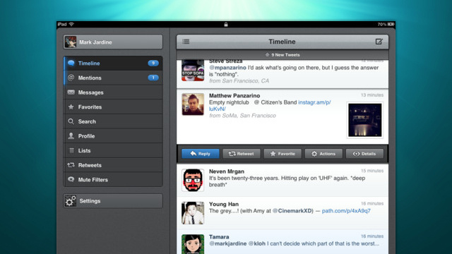 Tweetbot for iPad On Sale for $0.99, Is Still the Best Twitter Client on iOS