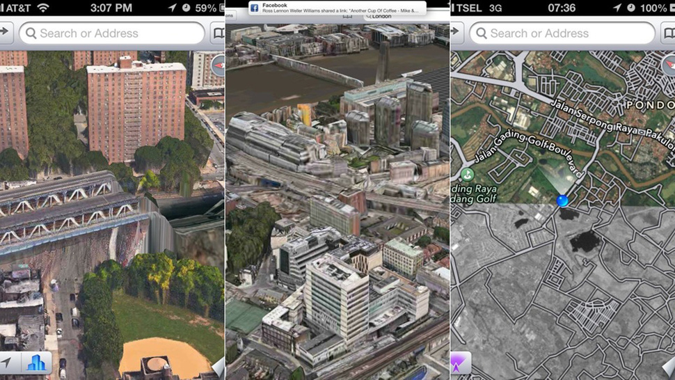 Apple's New 3D Maps Are an Apocalyptic Horror Show