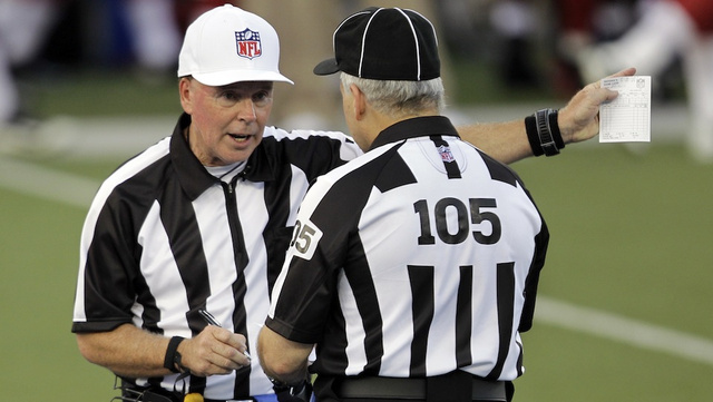 The NFL Fired Nine Former Officials When They Refused To Train Replacement Refs