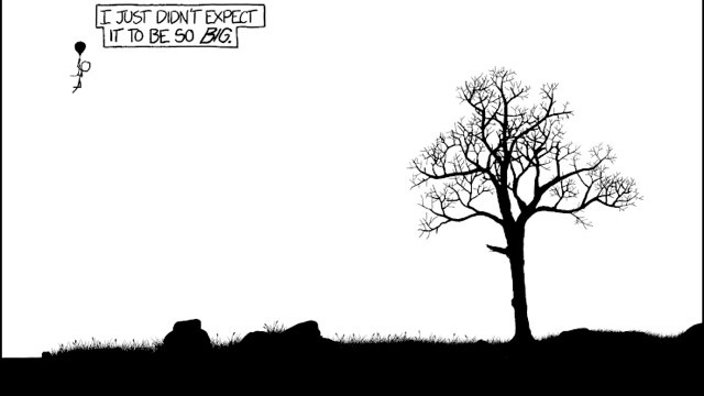 Beautiful xkcd comic paints a whole universe in one panel