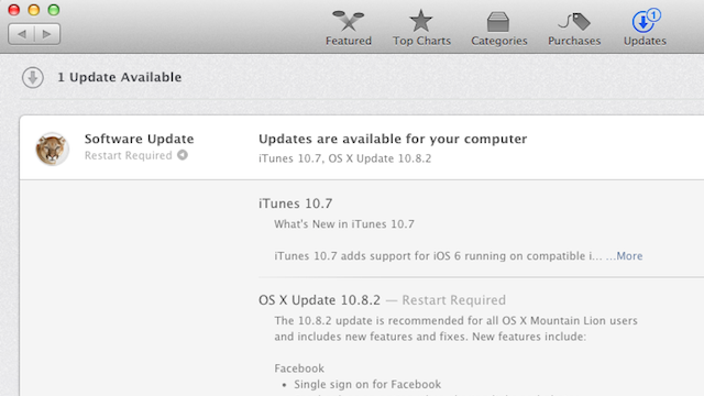 OS X 10.8.2 Brings Facebook Integration, iMessage Improvements, and More to Mountain Lion