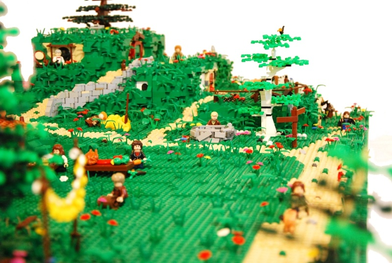 Lego Lord Of The Rings Shire