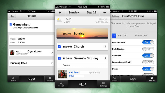 "Cue Adds More Customization, Other Fixes to Its ""Smart Calendar"" on iOS"