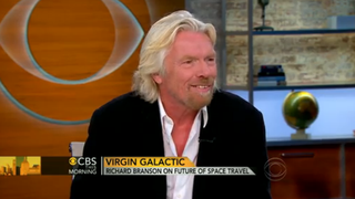 "Richard Branson ""determined to start a population on Mars"""