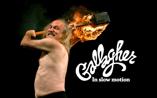 Click here to read Even Gallagher Is Worth Watching in Super Slow Motion