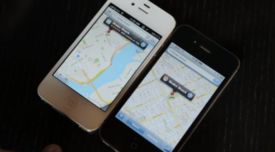 Click here to read Apple Maps vs Google Maps: A Side by Side iPhone Comparison