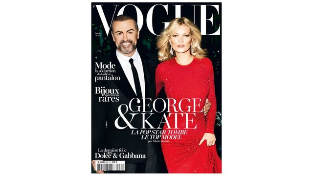 George Michael Is On The Cover Of Vogue Paris And The 90s Are Really, Really Back