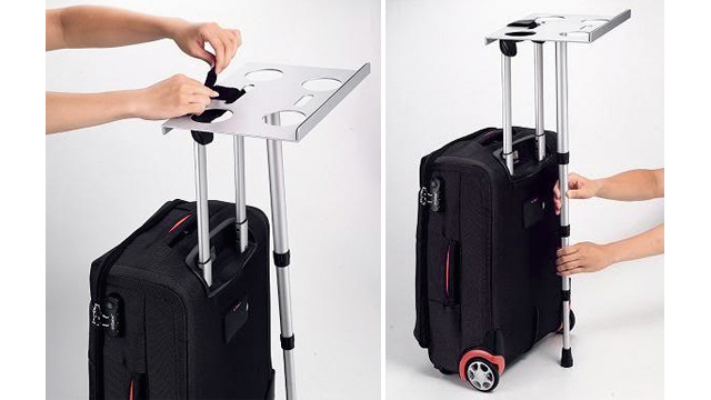 Click here to read Suitcase Laptop Support Gives You a Standing Desk Wherever You Travel