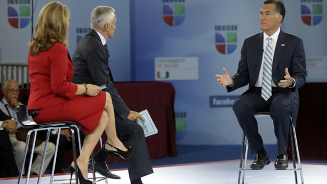Did Mitt Romney Seriously Just Wear Brownface to Appear on Univision?