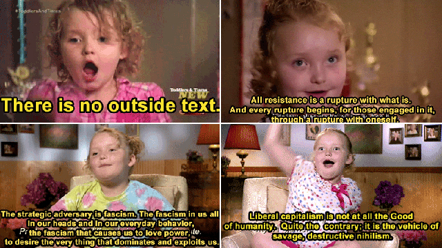 Philosophical Honey Boo Boo