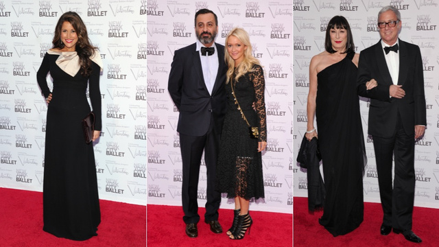 Celebs Channel Black Swan and the Rare Red Swan at the New York City Ballet Gala