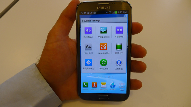 Galaxy Note II Hands On Gallery