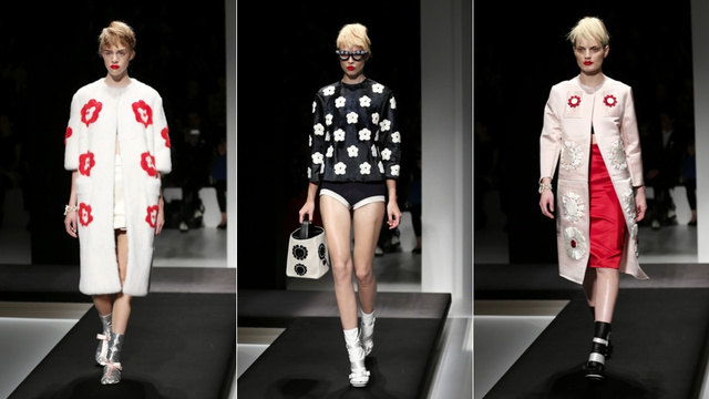 Prada, for the Origami-Loving Sixties Mod in You
