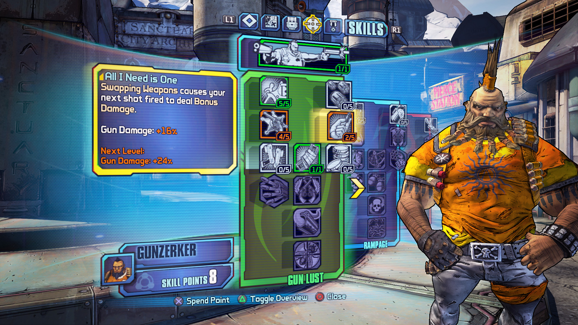borderlands 2 hidden weapons in sanctuary