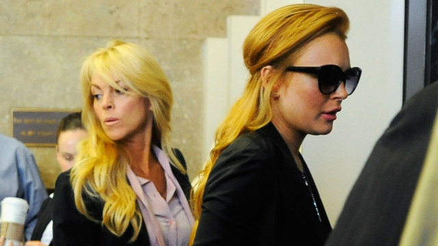 Dina Lohan Admits She's The Mama Rose To Lindsay's Gypsy Rose Shitfaced