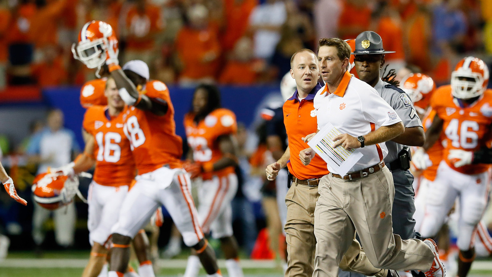 Clemson Head Football Coach Got Ticketed For Speeding, And The Cop Got Fired