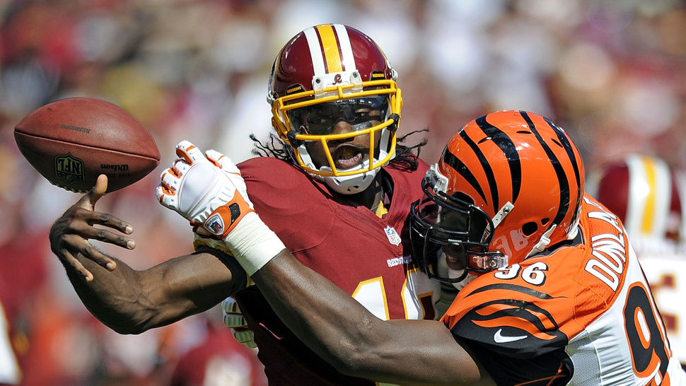 """The Redskins Lost Because Their Comeback Ran Out Of Time, In One GIF"