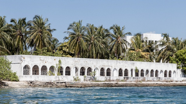 Photos of Colombian drug lord Pablo Escobar's abandoned private island