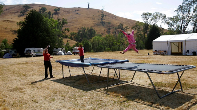 Killjoy Pediatricians Confirm That Trampolines Are Still Dangerous