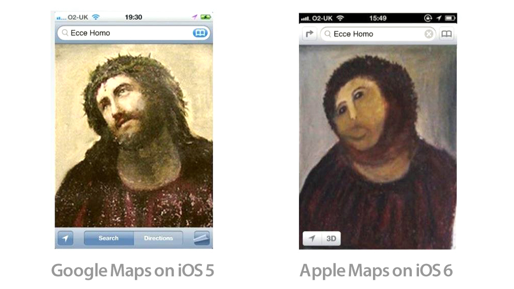 Click here to read The Definitive Comparison of Google Maps vs Apple Maps In One Single Image