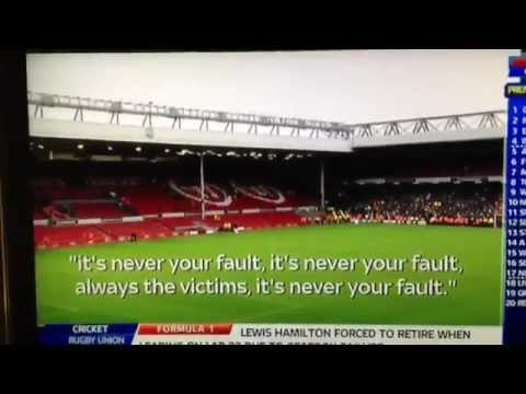 "Manchester United Fans Chanted ""Murderers"" At Liverpo…"