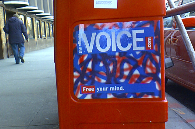 Village Voice Media's Last Ditch Effort to Save Itself Will Probably Fail